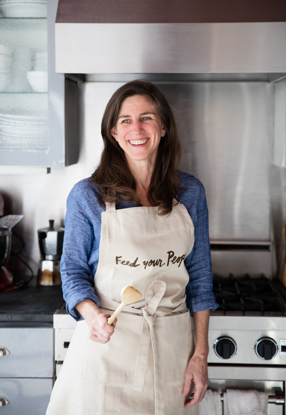 """""""I invited different cooks and chefs and people I knew who cook for people, then essentially asked the question: 'What do you cook when you cook for your people?' And it was very thrilling to see how people answered."""" - — Leslie Jonath"""