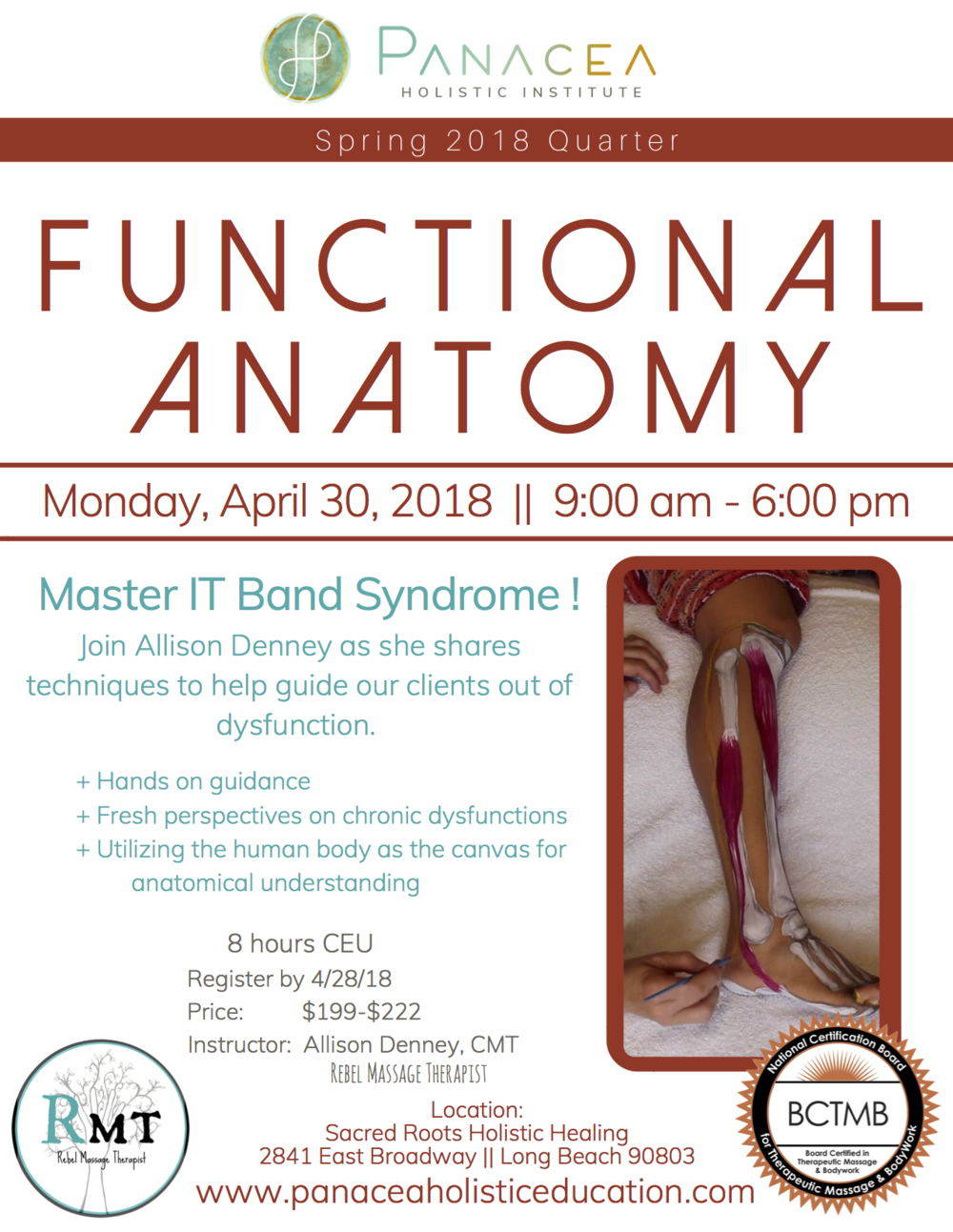 A. Denney - Functional Anatomy Flyer - Spring 2018.png