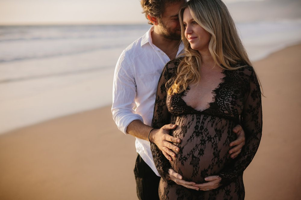 Zuma Beach Maternity © Abigail R Collins Photography