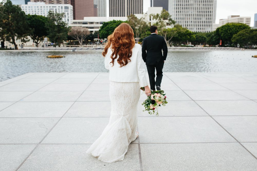 Los Angeles Cicada Club Wedding © Abigail R Collins Photography