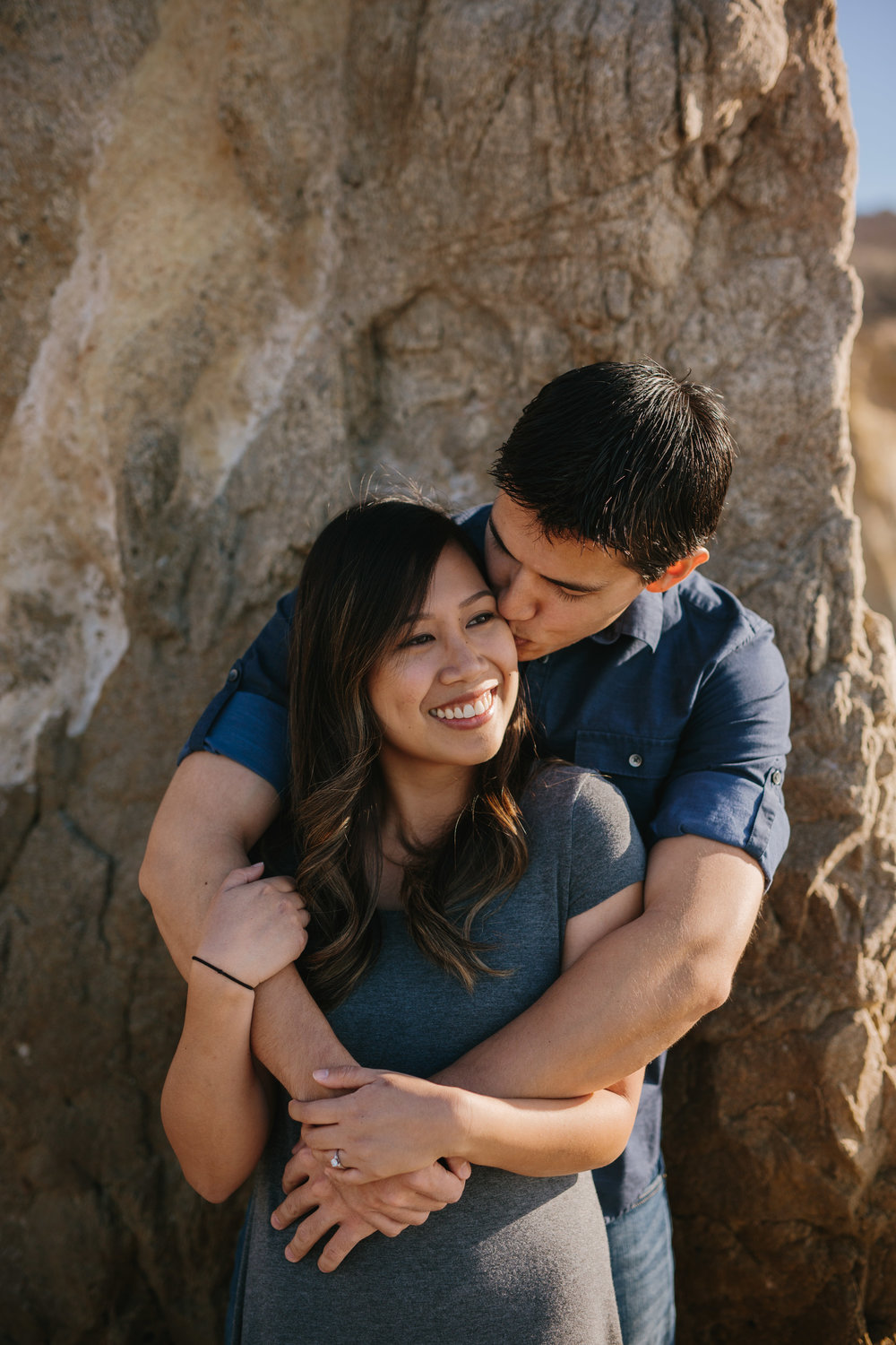 El Matador Beach Engagement © Abigail R Collins Photography