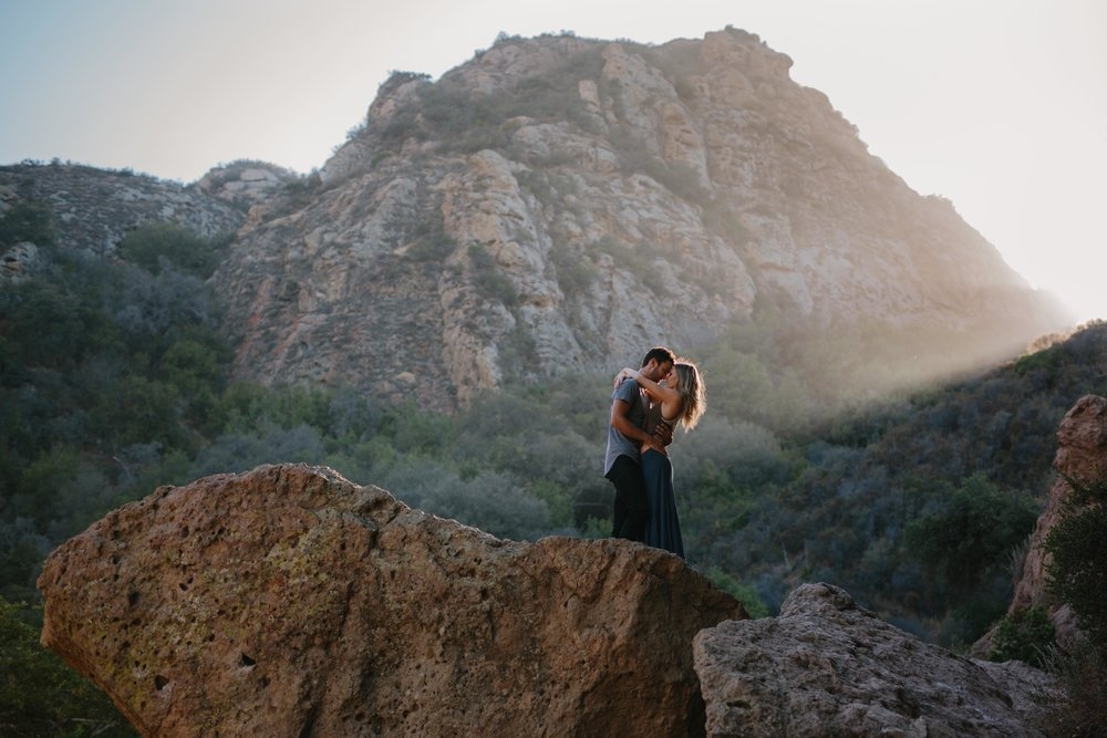 Malibu Creek State Park Engagement © Abigail R Collins Photography