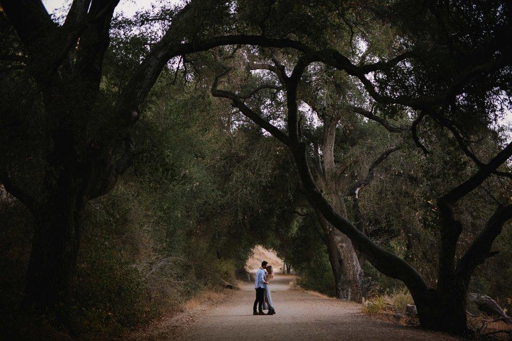Malibu Creek State Park Engagement © Abigail R Collins Photography