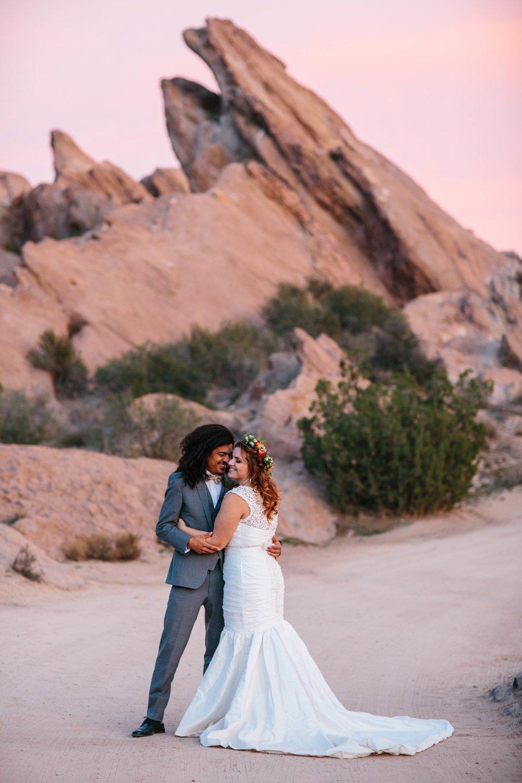 Vasquez Rocks Wedding Editorial © Abigail R Collins Photography