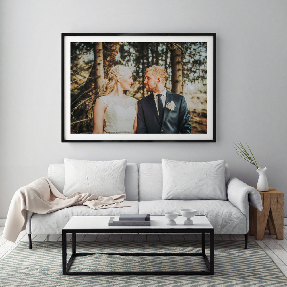 Prints - We deliver framed prints in the following sizes:30cm x 46cm51cm x 76cm61cm x 91cm76cm x 114cm