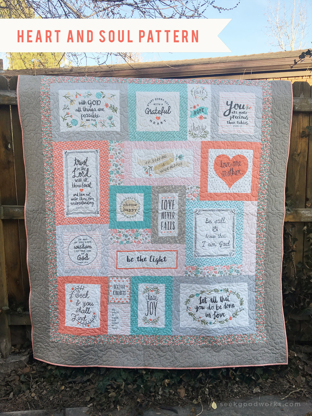 Get your free Heart and Soul pattern download  here