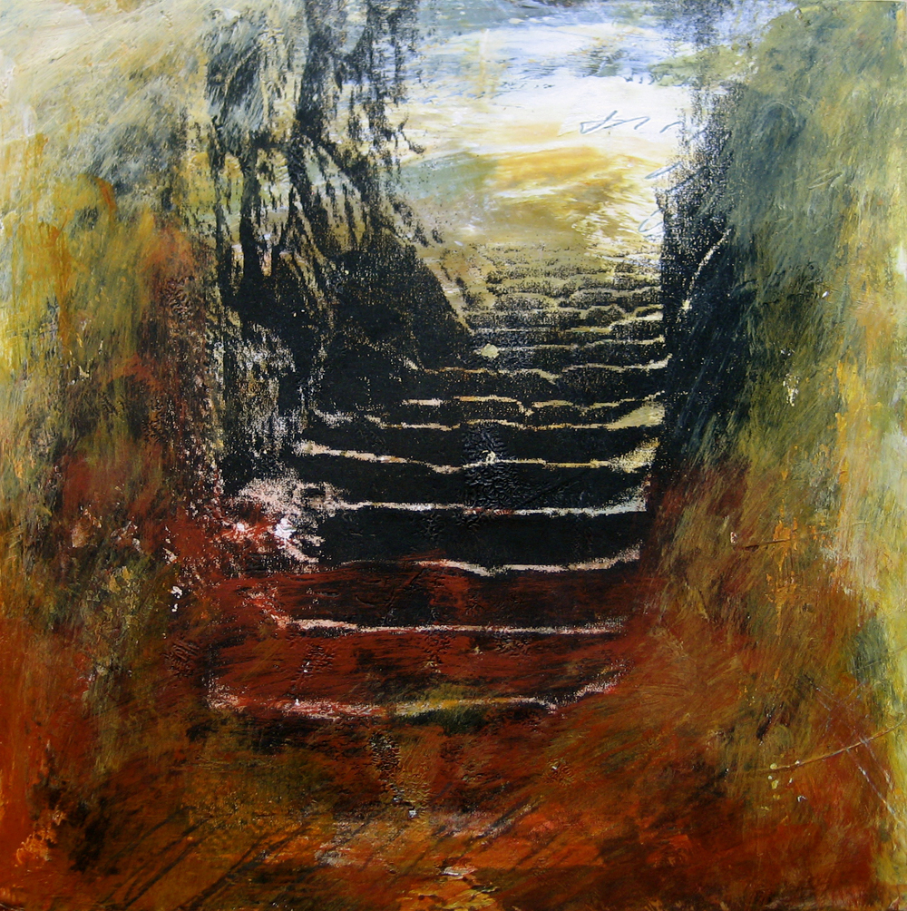 Daily Painting - Stairs