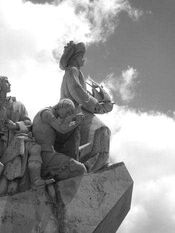 Memorial to the great Portuguese explorers