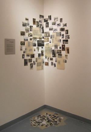 Installation of my Berlin photo wall