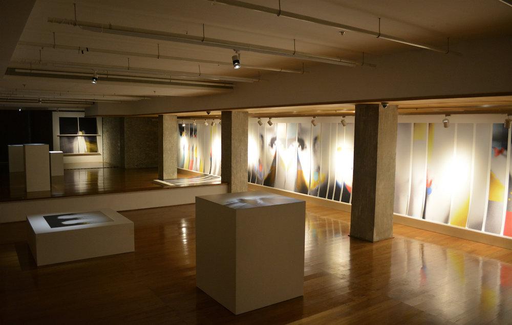 """""""Split"""" Exhibition - installation Shot #2"""