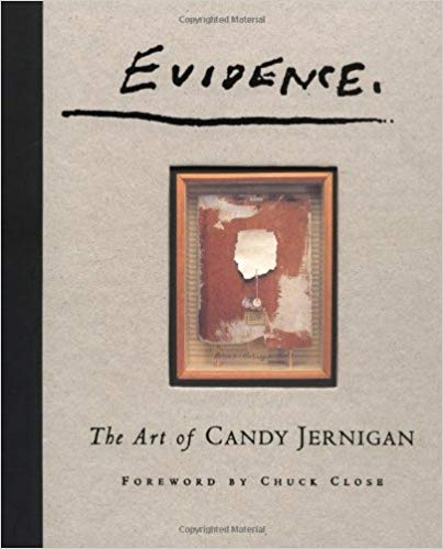 Evidence: The Art of Candy Jernigan    I don't remember how I first heard about Candy Jernigan, but I fell in love with her quirky and distinctive drawings and collages through this book. They are mostly travelogues to various places she visited in her short life, but instead of a snapshot of the Colosseum, she collected dust or toilet paper from the Vatican and made work infinitely more interesting!