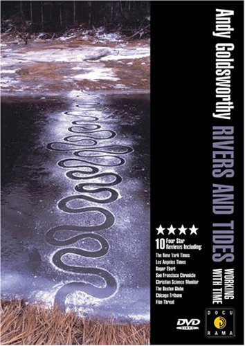 Rivers and Tides - a film about Andy Goldsworthy   If you are a fan of Andy Goldsworthy like I am, this documentary about his singular approach to art-making and the ephemeral transitory nature of his work in each environment, is a must. His commitment to his work, and subsequent sacrifices, show the lengths some artists will go to for their art.