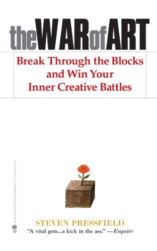The War of Art: Break Through the Blocks and Win Your Inner Creative Battles   This kick-ass book invites you to become a creative warrior. No excuses, no more resistance, just practical get-over-yourself wisdom. Loved it.