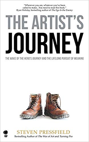 The Artist's Journey: The Hero's Journey and the Lifelong Pursuit of Meaning   Another book by Steven Pressfield, who's subdued his own inner demons and failures. This classic book uses the arc of the Hero's Journey to illustrate how we all follow archetypal patterns and how to move beyond the inevitable obstacles that block our way.