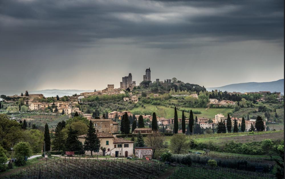 San Gimignano by Bernd Thaller