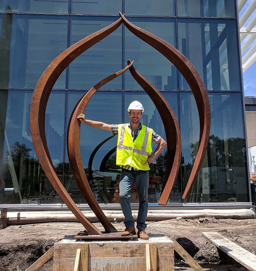 "Will installing ""Nested"" in front of the Baptist MD Anderson Cancer Center in Jacksonville, FL 2018"