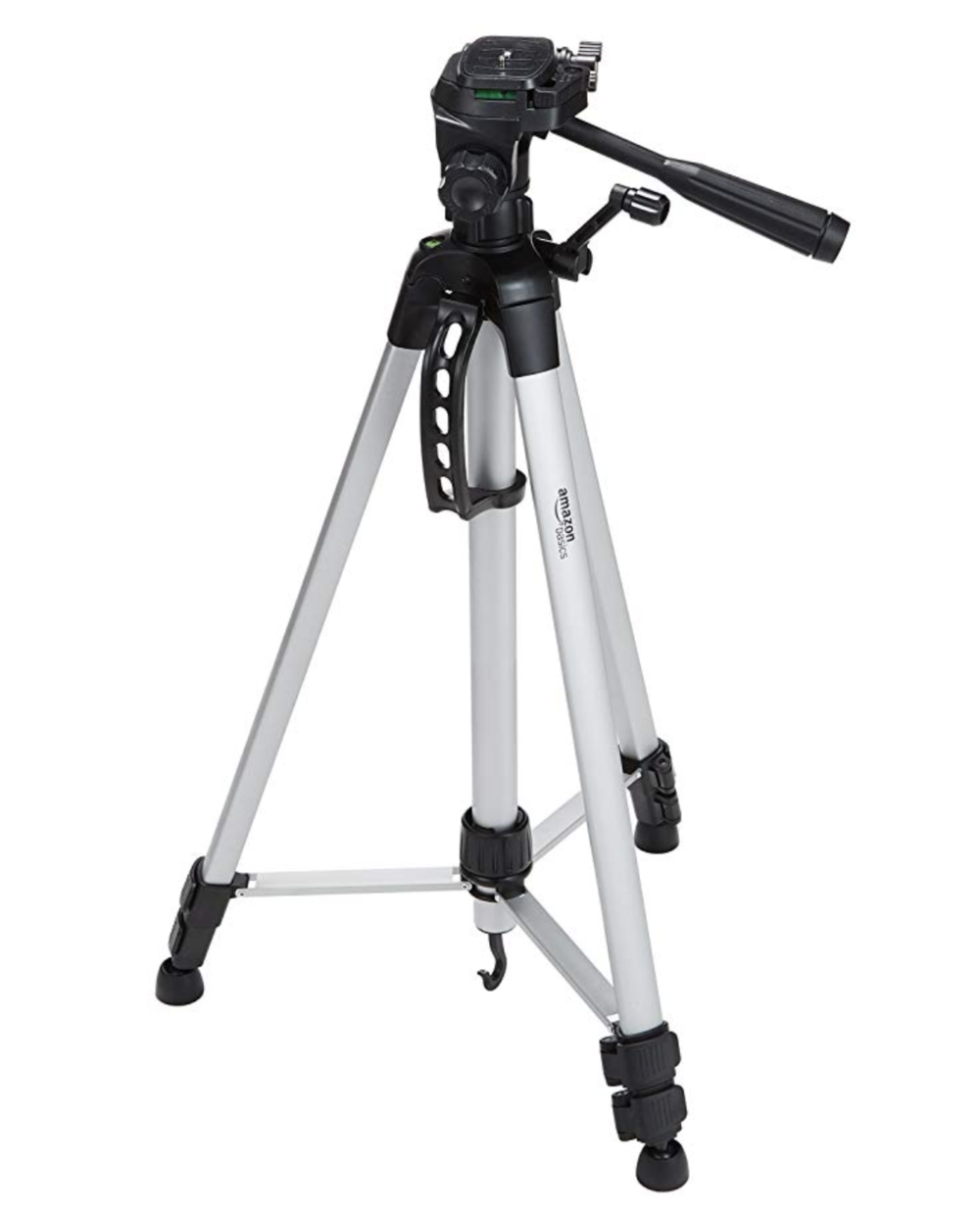 AmazonBasics 60-Inch Lightweight Tripod with Bag   I use a lightweight portable tripod for so many things these days. This is a very affordable option for using with cameras and pocket projectors. I also have a small tripod adaptor to use with my iphone camera - both for still shots and video.
