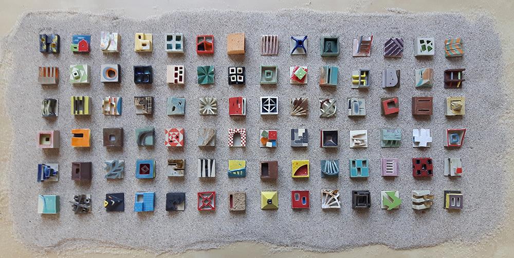 Ceramic work created in Peru