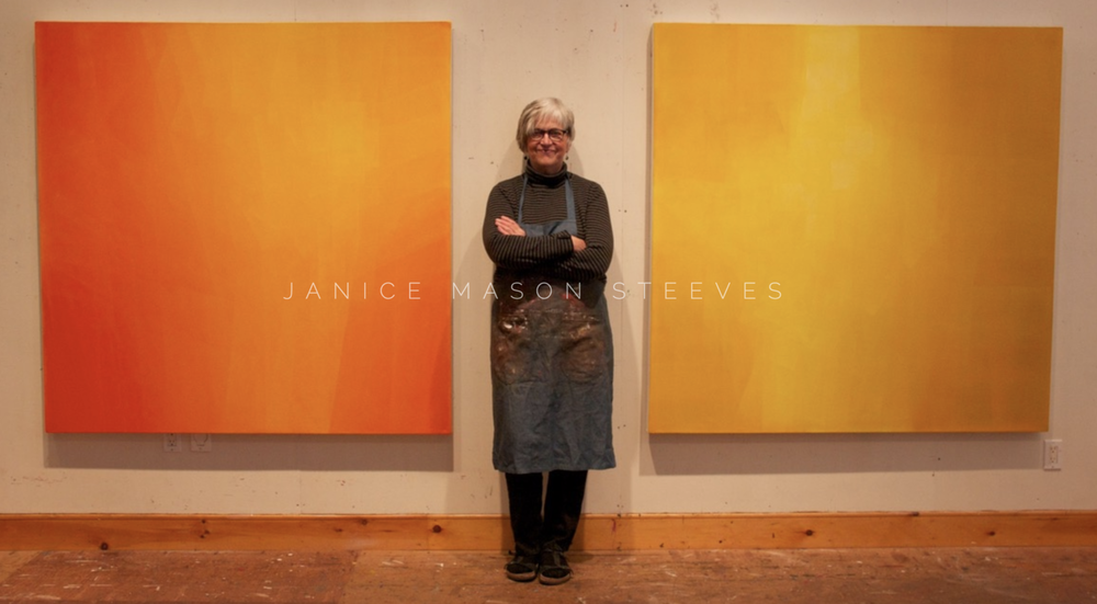 Janice Mason Steeves - One of the first artists I interviewed. July 2018