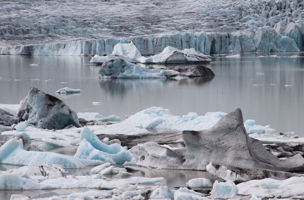 Glacier lagoon photo I took during my residency at Gullkistan in southern Iceland. 2011