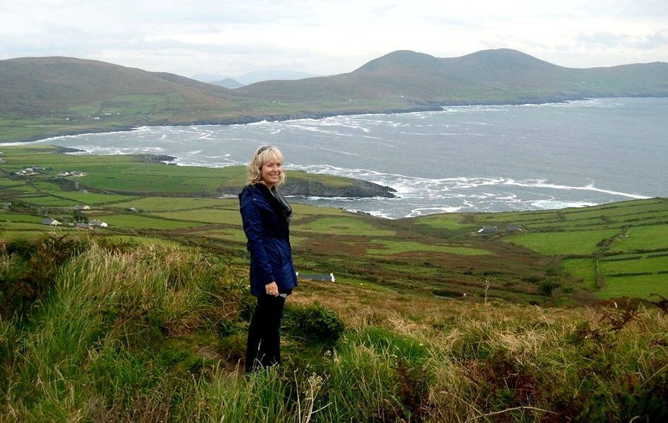 Swept up in emerald. Near Cill Rialaig Artist Residency in southwest Ireland. 2015