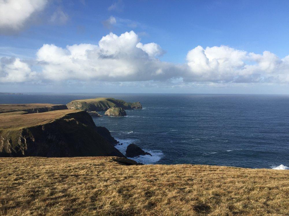 View near Ballinglen Residency, Ireland.
