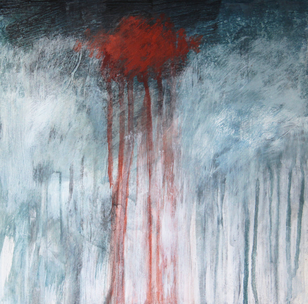 Iceland Series Acrylic on Paper ©Amy Guion Clay