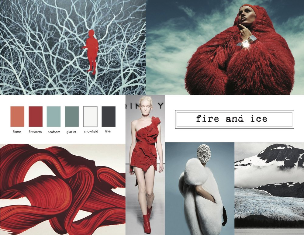 Mood board ©Amy Guion Clay