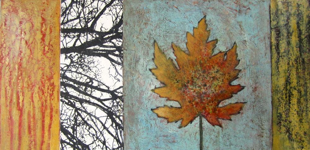 Heath Series 7 Acrylic, toner on panel ©Amy Guion Clay
