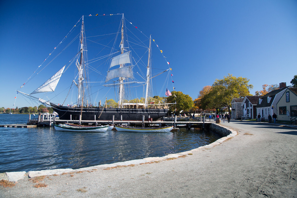 "Photo courtesy of ""The Mystic Seaport"""