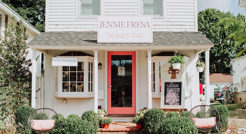 "Picture courtesy of ""Jennie Fresa Beauty Bar"""