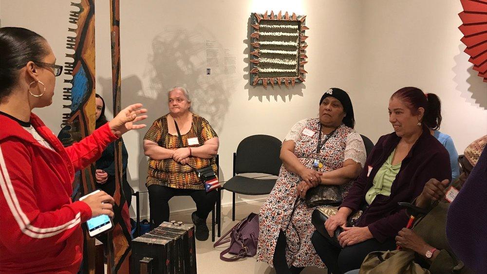Members of the ARTZ Philadelphia Community advisory group in Hunting Park    (Photo: ARTZ Philadelphia)