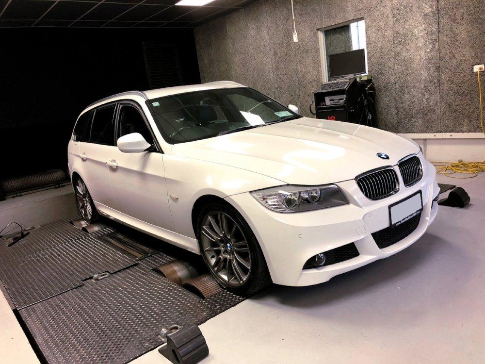 E91 BMW 335D Dyno Tune