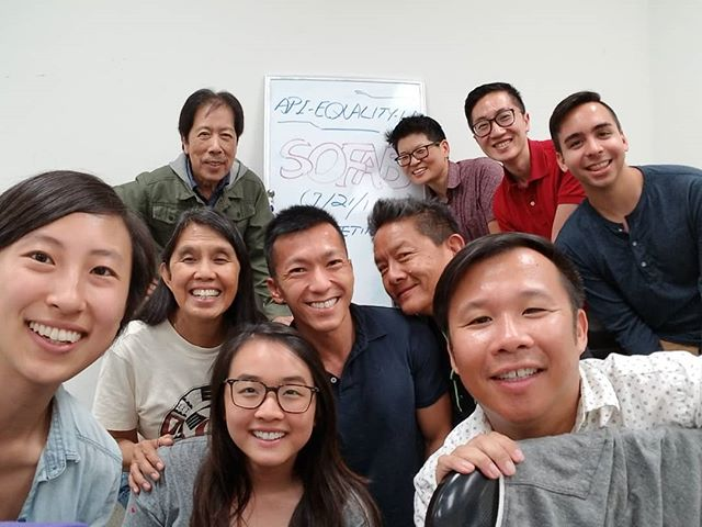 Thanks to all the beautiful people who joined our first Sustaining Our Future Advisory Board meeting yesterday! We had a great time gathering together current and former Steering Committee members and passionate and inspiring community leaders to discuss how to increase community support for our work. Stay tuned to see what SOFAB has in store for API Equality-LA this next year!