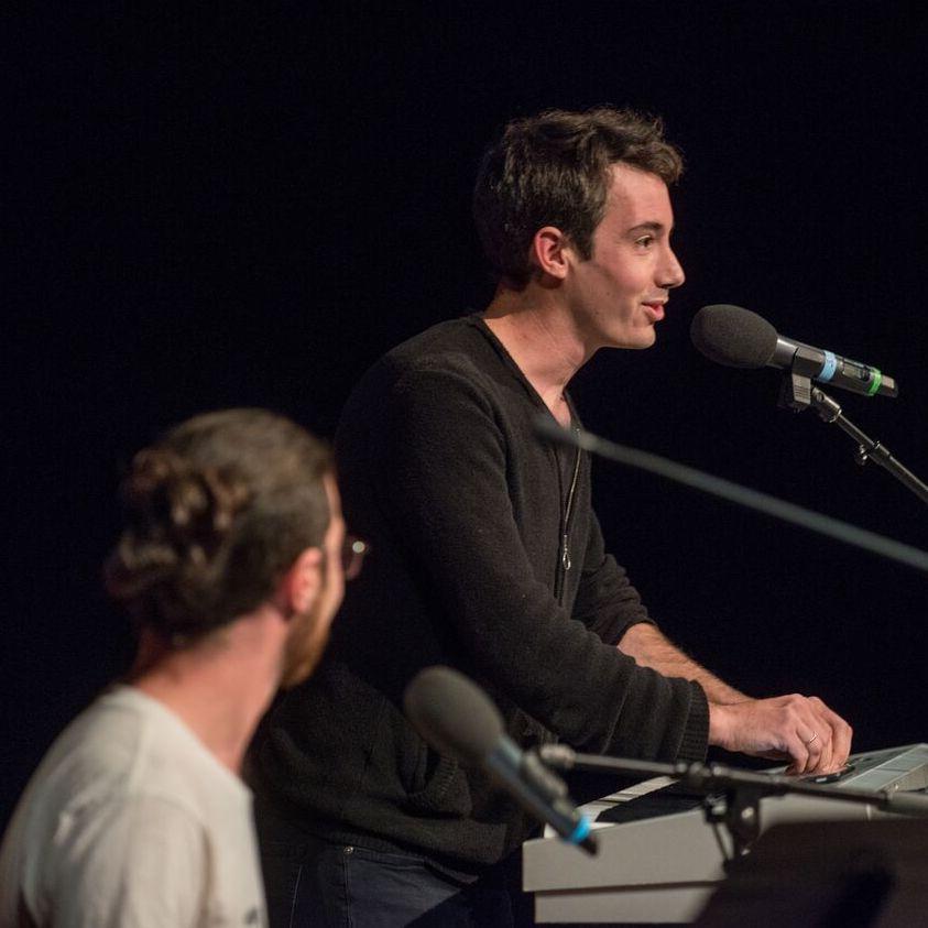 Mendel witnesses Sunfish Moon Light (AKA Adam Huggins) live in concert