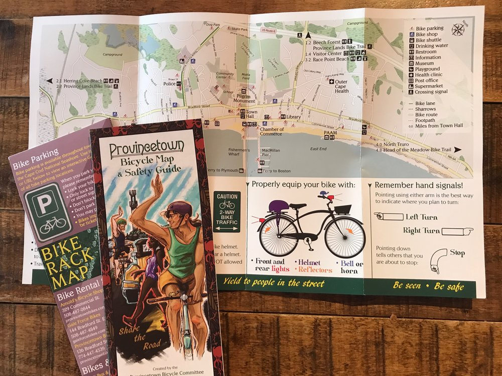 Provincetown Bike Map & Safety Guide