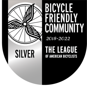 Bicycle Friendly Community Award Provincetown Massachusetts Silver Cape Cod BFC_Silver_18-22.png