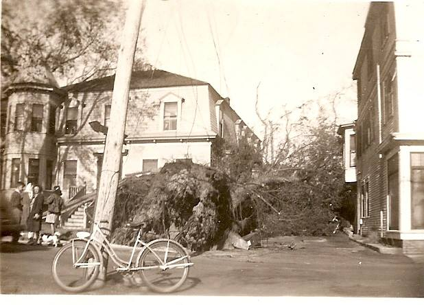 A Bicycle on Court Street 1944 - My Grandfather's Provincetown - Velma O'Donnell