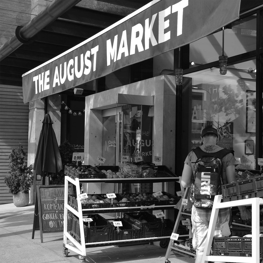 THE AUGUST MARKET   About a 10- to 15-minute walk from my work space, this small local grocer is all about affordability and neighbourhood values. They also have kombucha on tap.   map