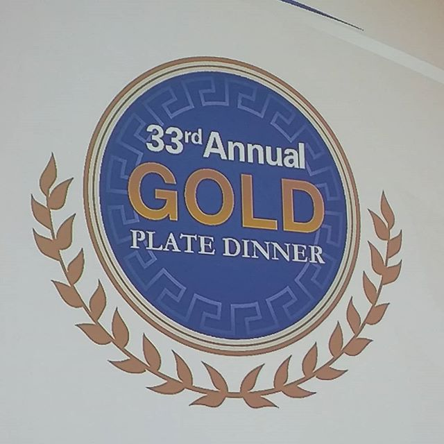 Who is ready for the 33rd Annual Gold Plate Dinner? #goldplatedinner2018