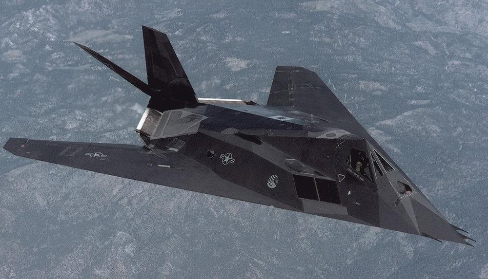 reference: anti-radar nighthawk jet