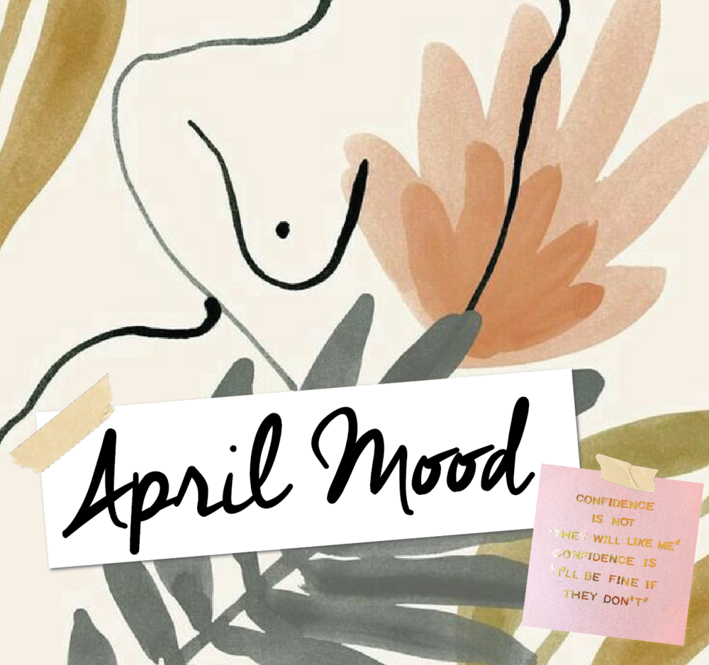 Lisie Sabba's April mood board
