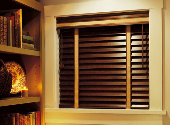 Custom Shutters & Blinds - Horizontal blinds are measured and cut with precision from the finest grade of hardwoods that are extremely strong and stable but light in weight. Our faux wood collections are perfect for  those high wear, high moisture or  high traffic areas. If you are looking for the elegance of premium hardwood shutters but still want that simple design to complement your style ; our collection of plantation shutters are the perfect fit .