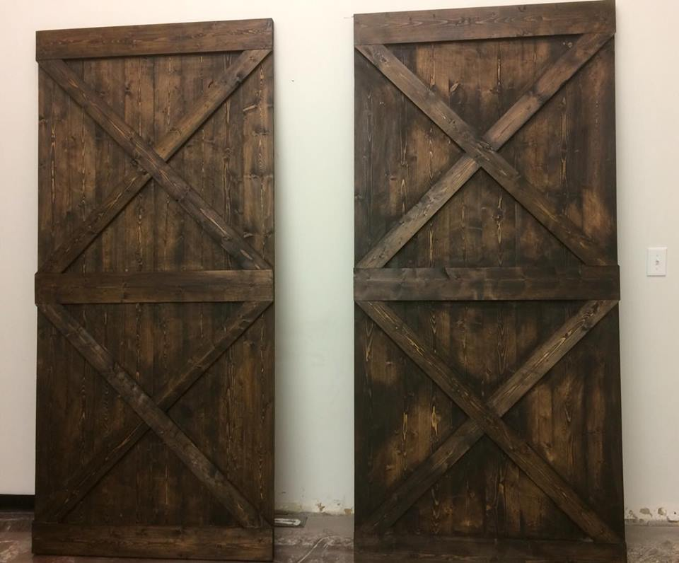 Barn Doors & Custom Furniture - Want to add that rustic touch to your home? We offer several variants of custom barn doors.
