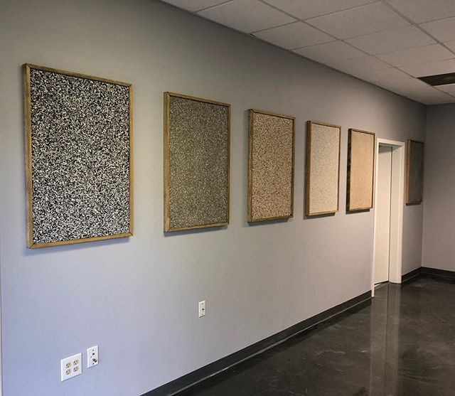 Stop by our showroom to take a look at some of our epoxy samples #atl #epoxy #404epic #704epic #garageflooring