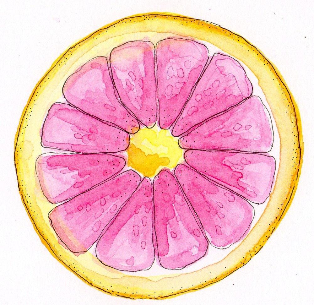My beloved grapefruit!