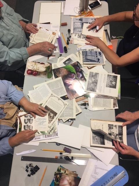 Fun sorting through papers