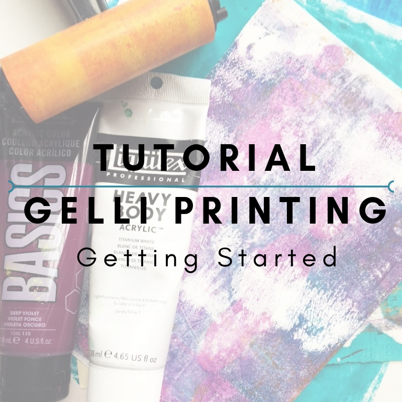 Tutorial: Gelli Printing - Getting Started  In this first tutorial, shared on the Get Messy public blog, I walk you through using your Gelli Plate fresh out of the box. We make some fun collage papers and experiment with a few tricks!