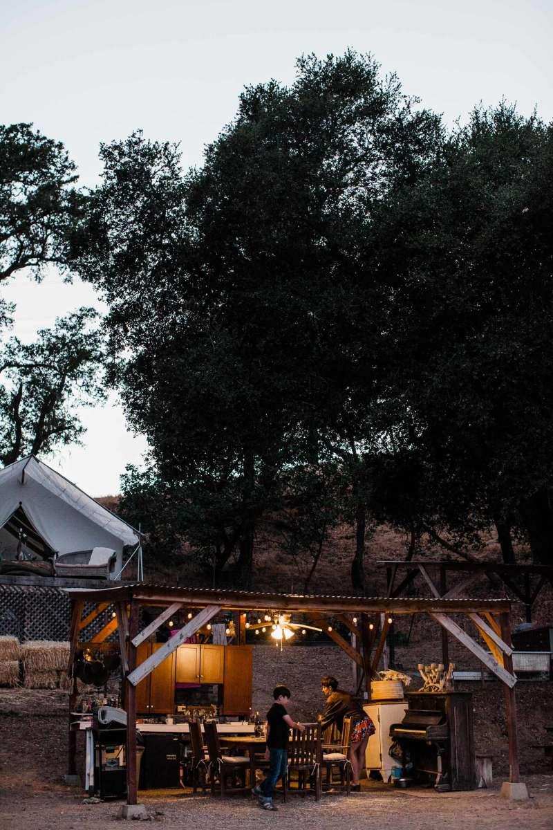 Take Evening Respite in Sindisa's Luxury Camping Kitchen