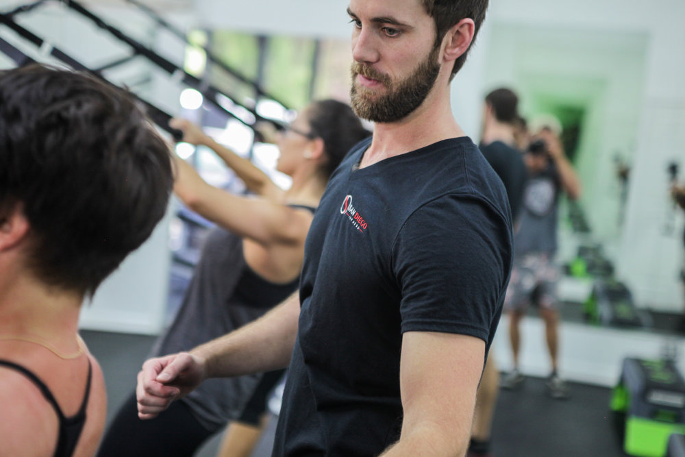 Partner training - Have a friend or loved one who wants to join in on the fun? San Diego Fitness offers semi-private sessions for two to three individuals with similar fitness levels and goals.